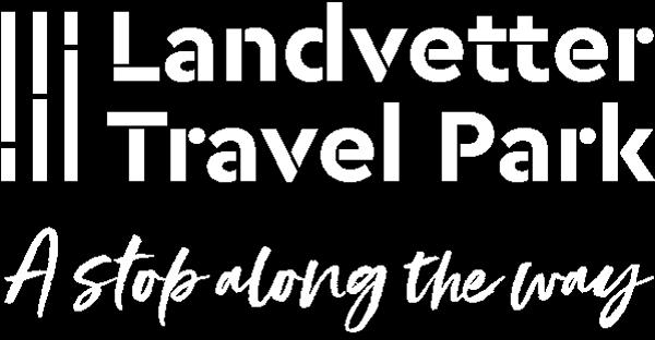 Landvetter Travel Park logo-vit