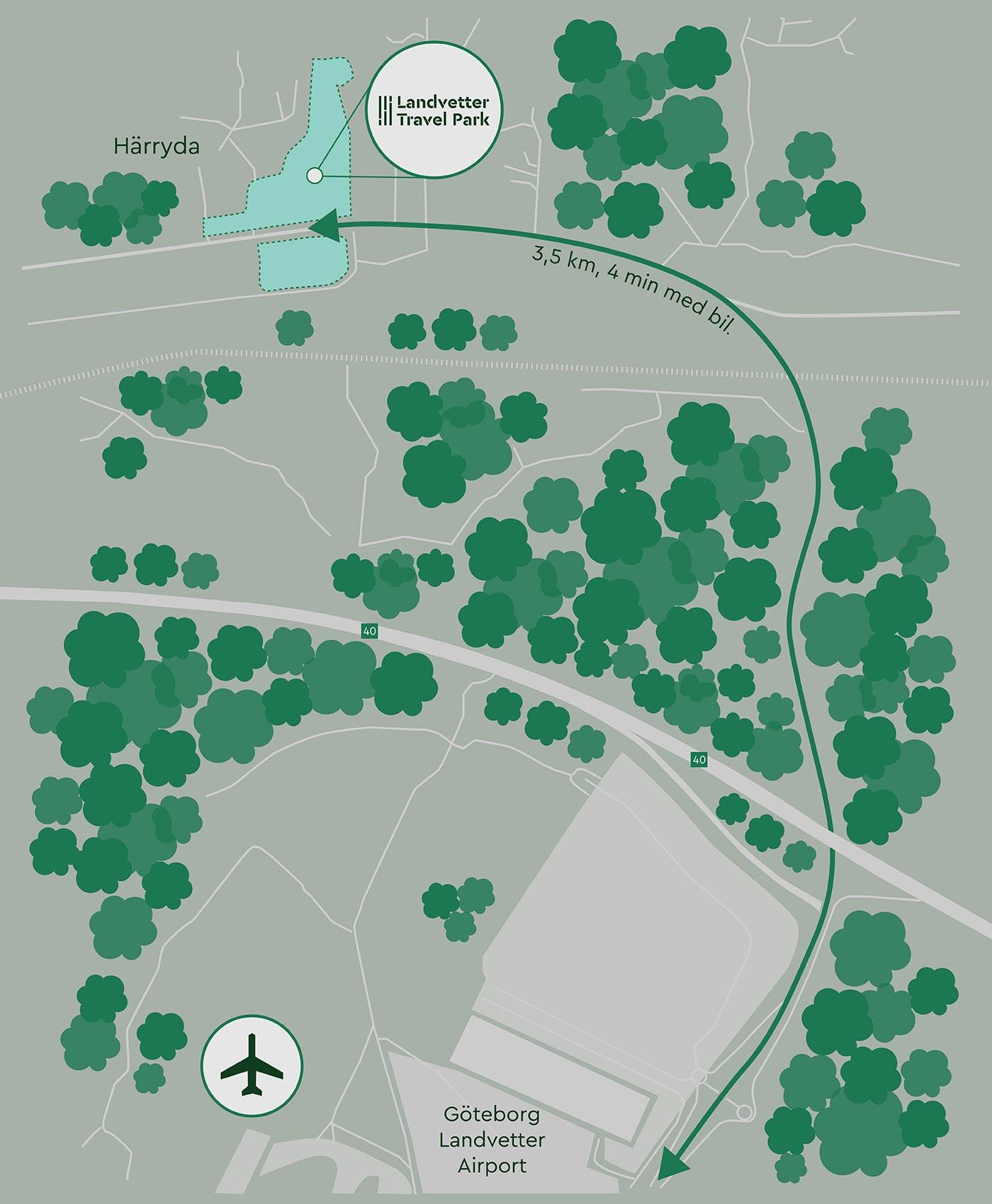 Karta Landvetter