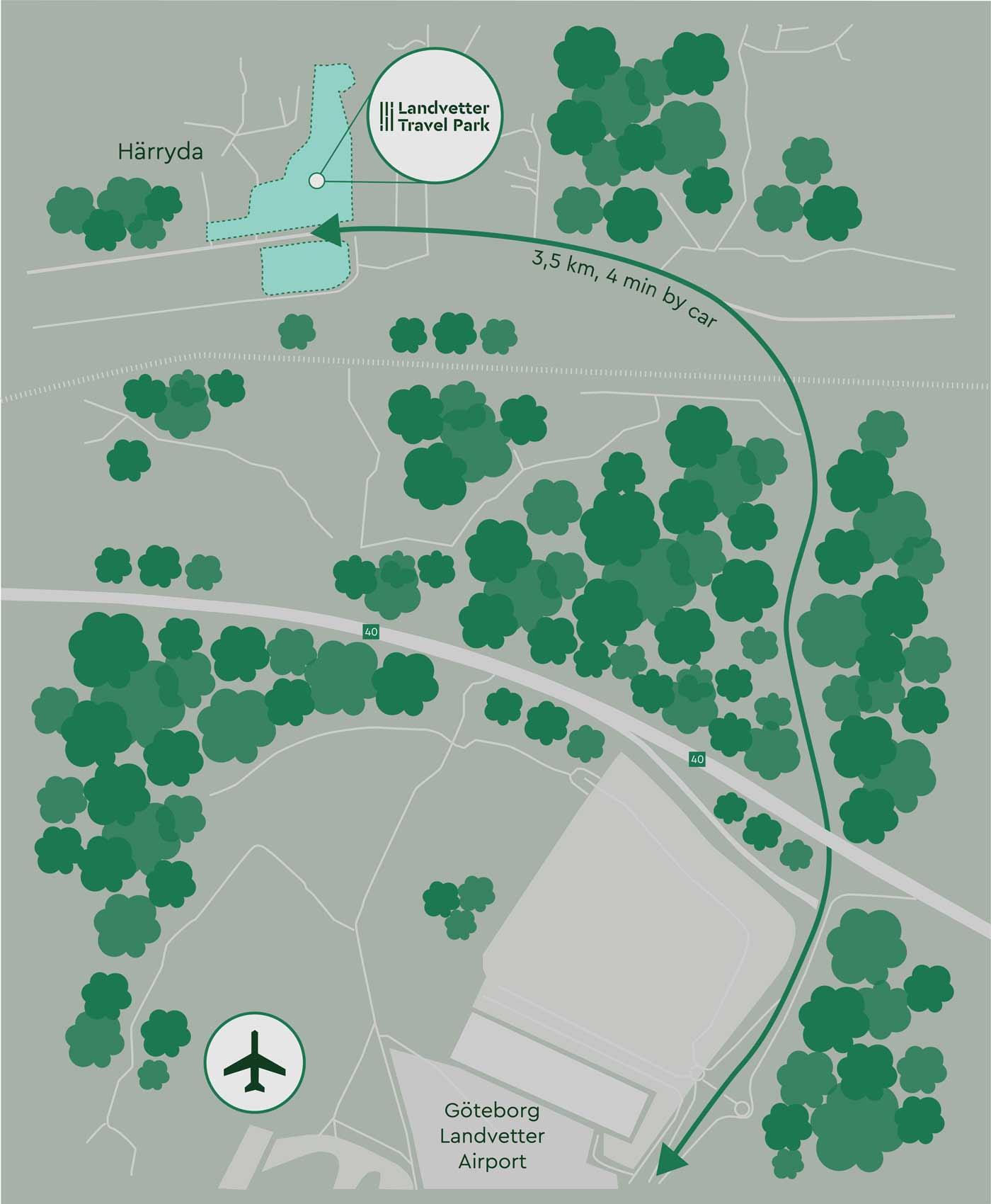 LTP map